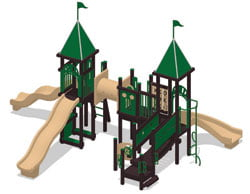 Park Play Mart Playground Recycled Equipment