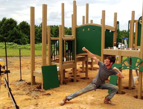 Play Mart Playground Installation