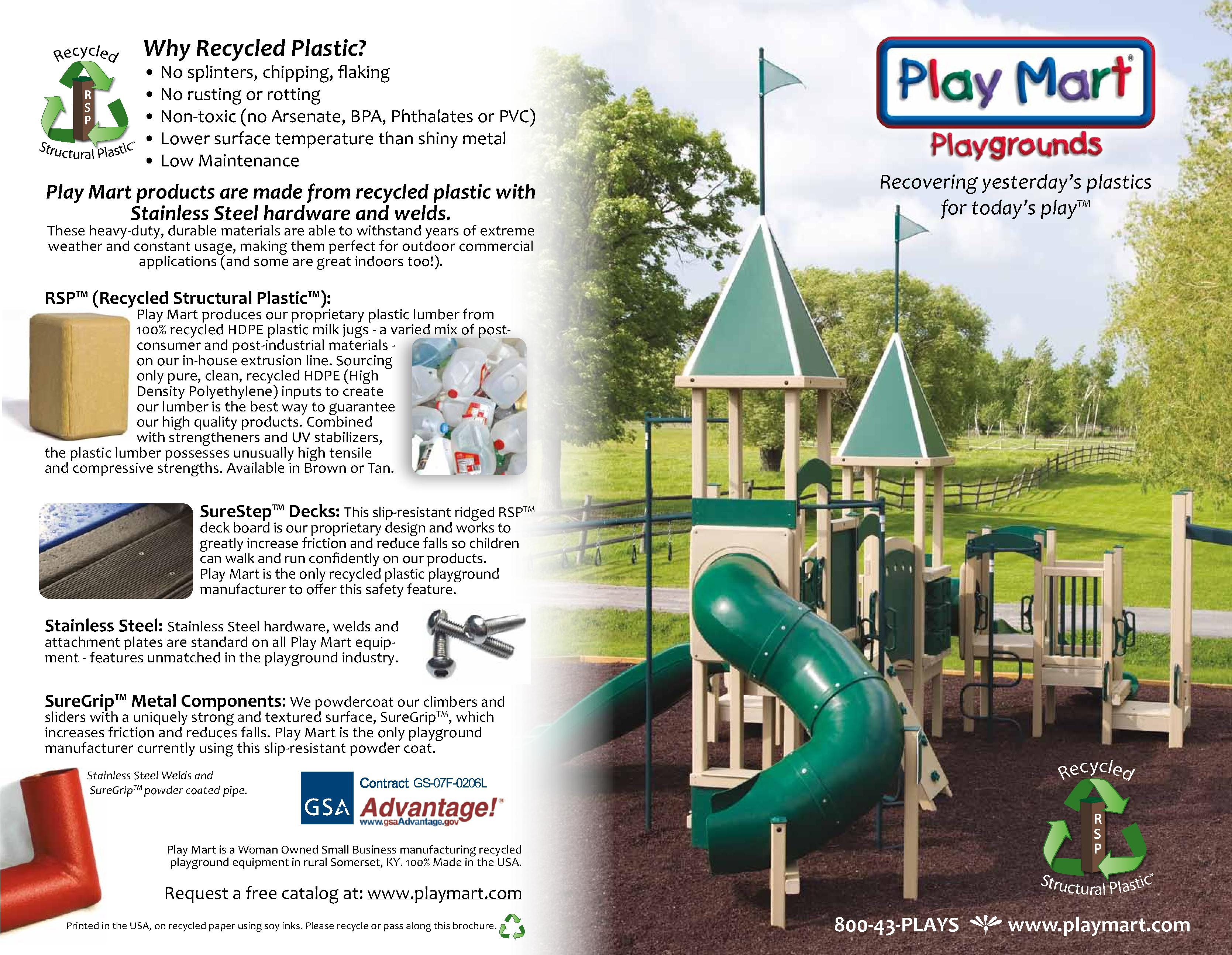 Play Mart Playgrounds Brochure