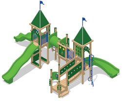 Sea Play Mart Playground Recycled Equipment