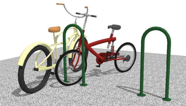 Single Loop Bike Rack
