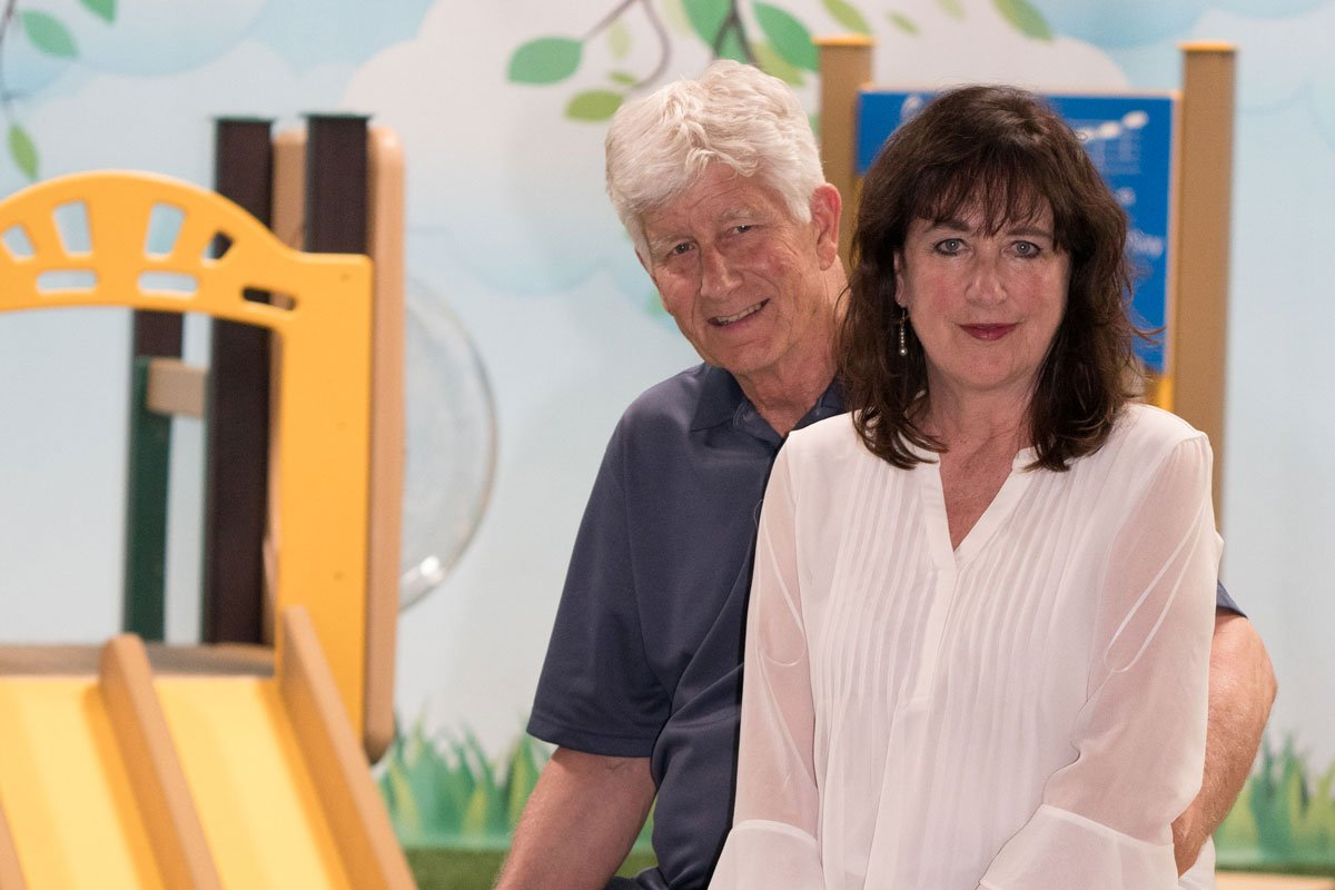 Dennis and Rebecca Beach Owners of Play Mart, Inc. Playground Equipment