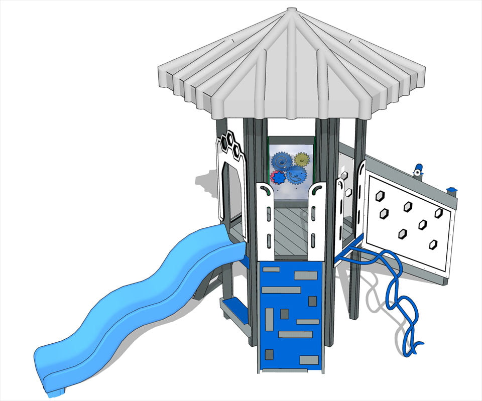 Mole Hill cumulus | Play Mart Playground Equipment