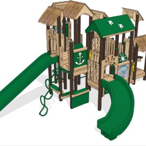 Landow Landing Playground Playset | Play Mart Inc