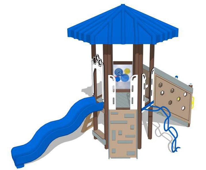 Mole Hill Winter   Play Mart Playground Equipment