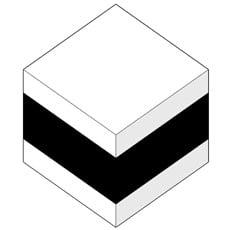 WHITE - BLACK - WHITE
