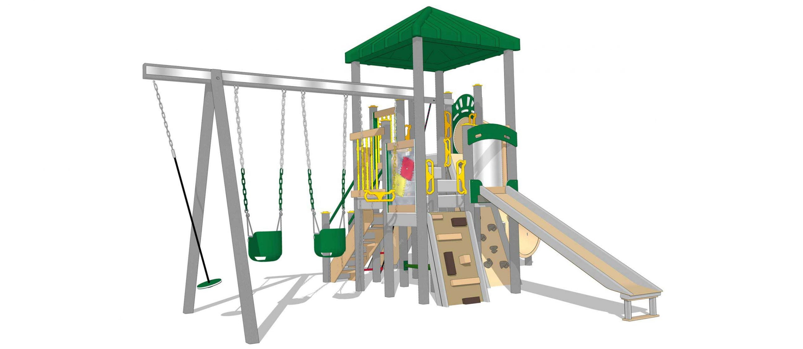 Play Mart Residential Play Sets wide